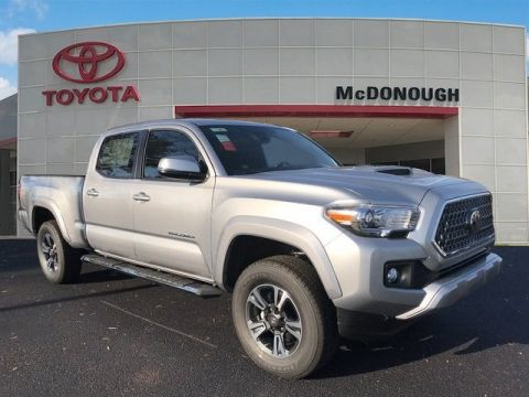 NEW 2018 TOYOTA TACOMA SR5 DOUBLE CAB 6' BED V6 4X2 AT 4D DOUBLE CAB