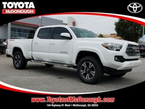 NEW 2017 TOYOTA TACOMA TRD SPORT 4D DOUBLE CAB
