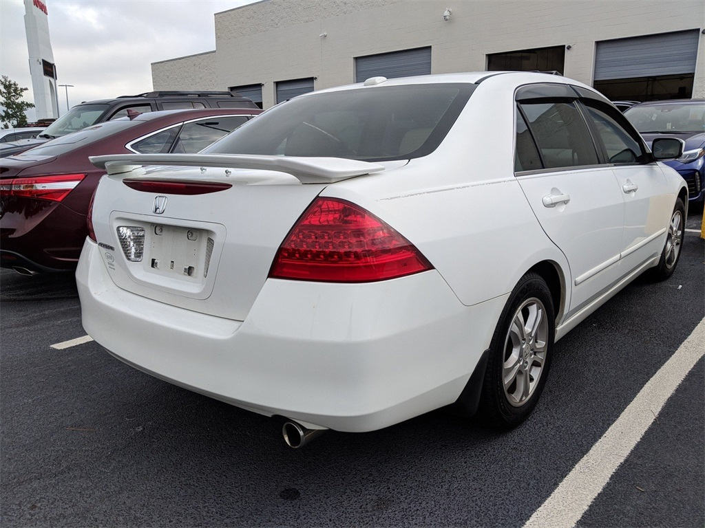 Pre Owned 2007 Honda Accord 4dr I4 AT EX L