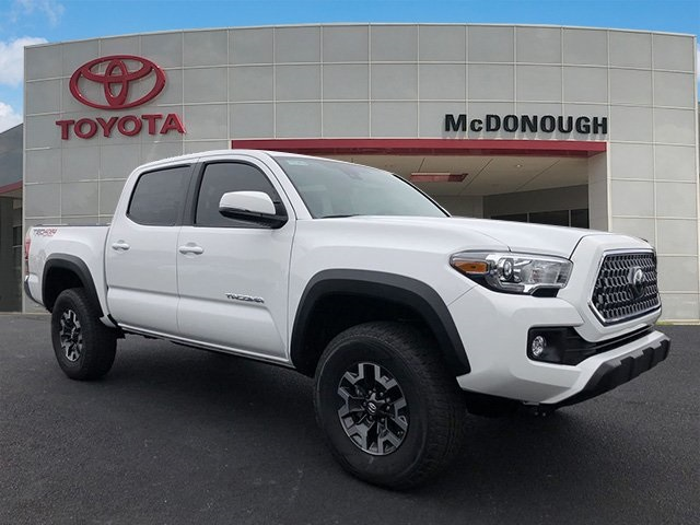 New 2019 Toyota Tacoma Trd Offroad 4d Double Cab In Mcdonough