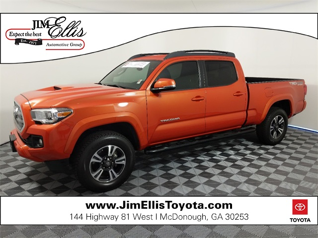 Certified Pre-Owned 2016 Toyota Tacoma TRD Sport V6 4x4