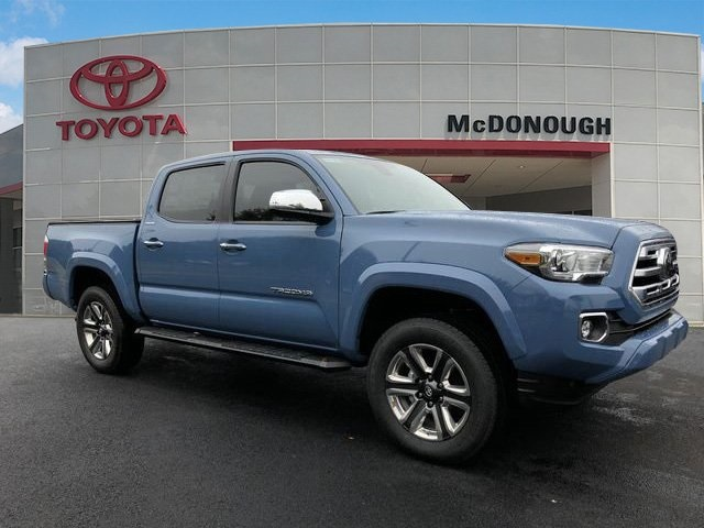 Toyota Tacoma Limited >> New 2019 Toyota Tacoma Limited 4d Double Cab In Mcdonough 201405
