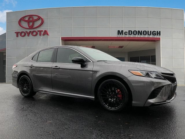 New 2019 Toyota Camry Se Xp 4d Sedan In Mcdonough 699866 Toyota