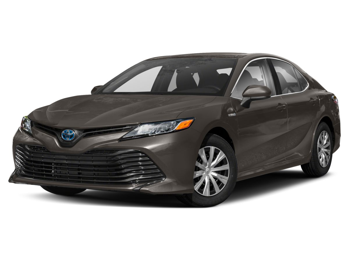 New 2019 Toyota Camry Hybrid LE w/Audio, Moonroof, Conv + Blind Spot