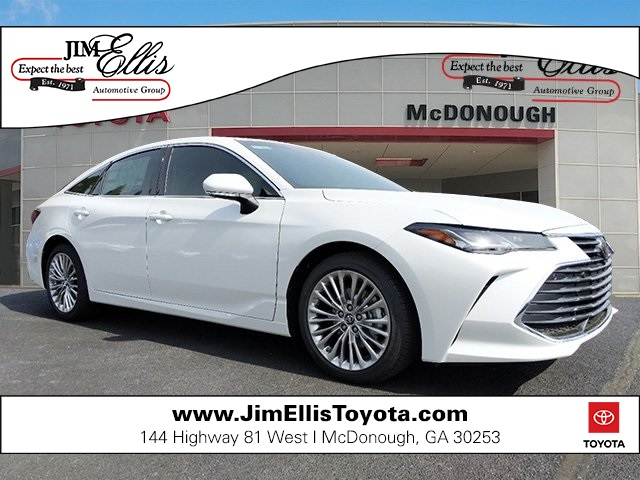 New 2019 Toyota Avalon Limited w/Advanced Safety Package