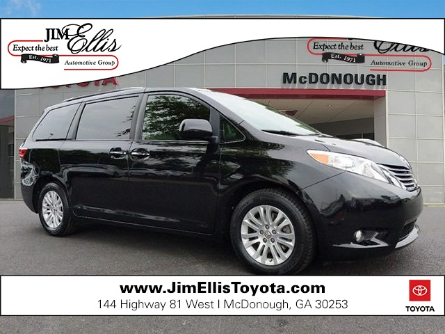 Certified Pre-Owned 2016 Toyota Sienna XLE 8 Passenger