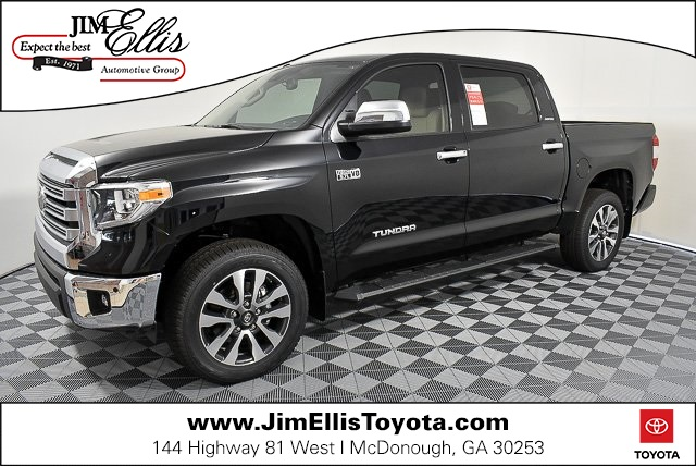 New 2019 Toyota Tundra Limited 5.7L V8 4x4 w/Premium Package & Moonroof