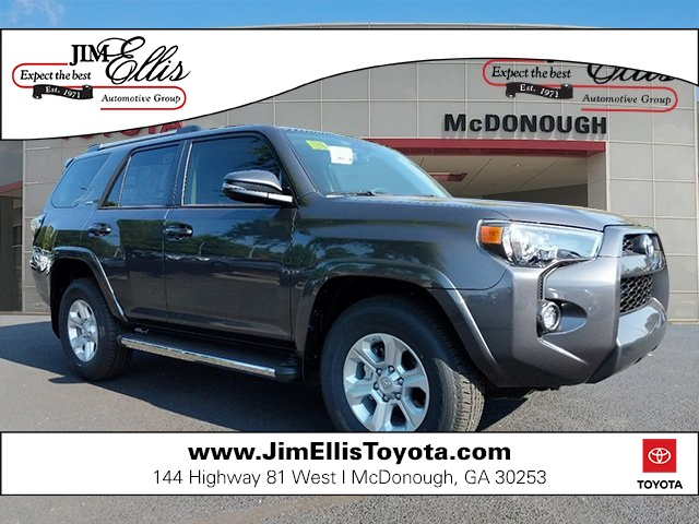 New 2019 Toyota 4Runner SR5 Premium w/Moonroof