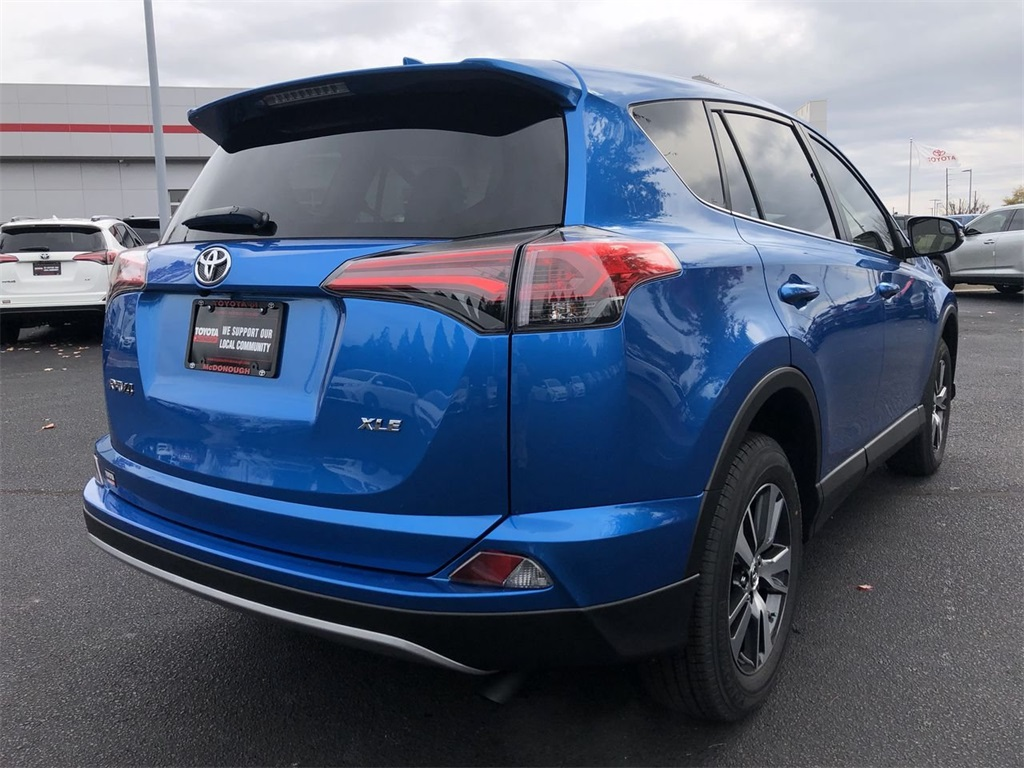 New 2018 Toyota Rav4 Xle 4d Sport Utility In Mcdonough 753456 Rear Suspension Parts