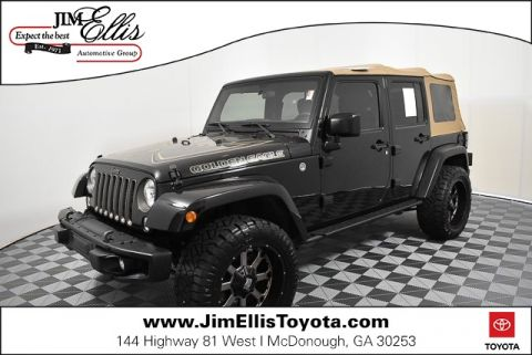Pre-Owned 2018 Jeep Wrangler JK Unlimited Sport GOLDEN EAGLE