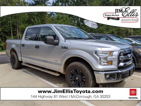 Pre-Owned 2017 Ford F-150 XLT 4D SuperCrew RWD