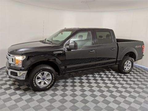 Pre-Owned 2018 Ford F-150 XLT 4D SuperCrew 4WD