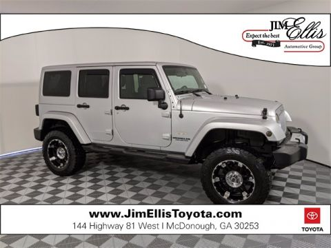 Pre-Owned 2011 Jeep Wrangler Unlimited Sahara 4D Sport Utility 4WD