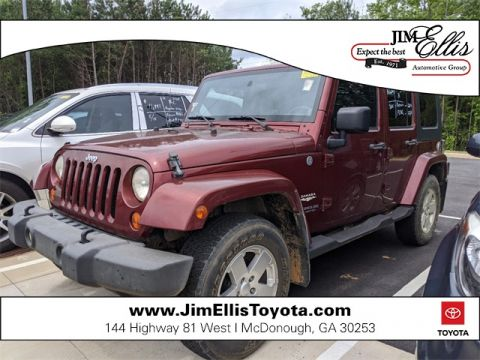 Pre-Owned 2007 Jeep Wrangler Unlimited Sahara 4D Sport Utility 4WD
