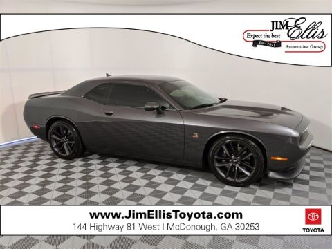 Pre-Owned 2019 Dodge Challenger R/T Scat Pack 2D Coupe RWD