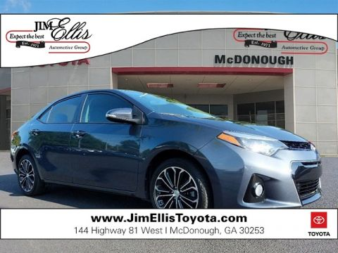 Certified Pre-Owned 2015 Toyota Corolla S Plus