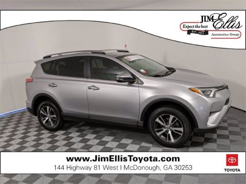 Pre-Owned 2017 Toyota RAV4 XLE 4D Sport Utility FWD