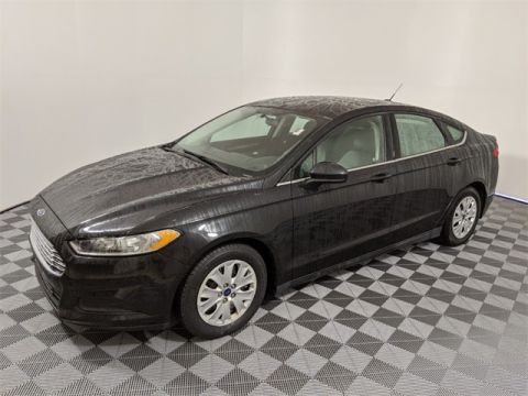 Pre-Owned 2014 Ford Fusion S 4D Sedan FWD