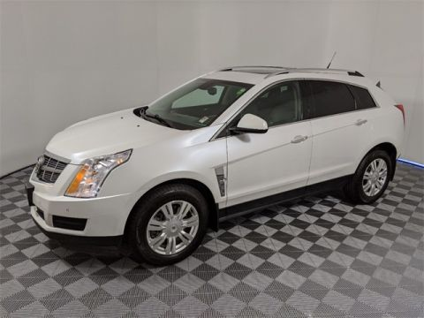 Pre-Owned 2012 Cadillac SRX Luxury 4D Sport Utility FWD