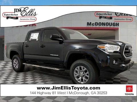 New 2019 Toyota Tacoma SR5 V6 w/Parking Sonar & Navigation Package