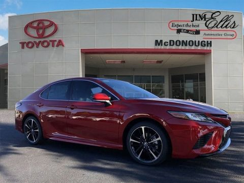 New 2019 Toyota Camry XSE w/Driver Assist, Navigation & Panoramic Sunroof