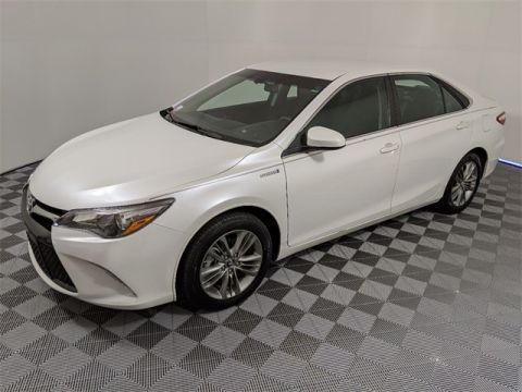 Certified Pre-Owned 2017 Toyota Camry Hybrid SE 4D Sedan FWD
