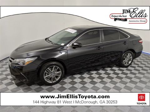Certified Pre-Owned 2017 Toyota Camry XLE 4D Sedan FWD