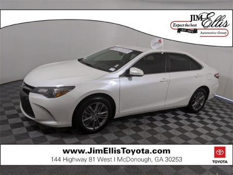 Certified Pre-Owned 2017 Toyota Camry SE 4D Sedan FWD