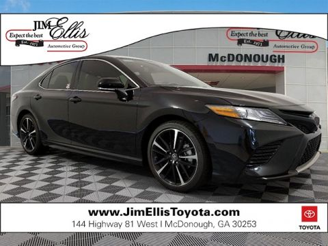 New 2019 Toyota Camry XSE V6 w/Driver Assist & Navigation