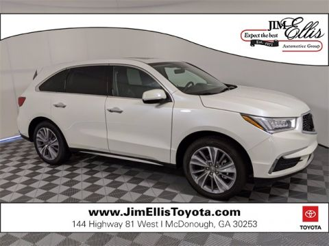 Pre-Owned 2018 Acura MDX 3.5L w/Technology Package 4D Sport Utility FWD
