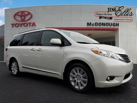 Pre-Owned 2016 Toyota Sienna 5dr 7-Pass Van XLE AWD 7 Passenger