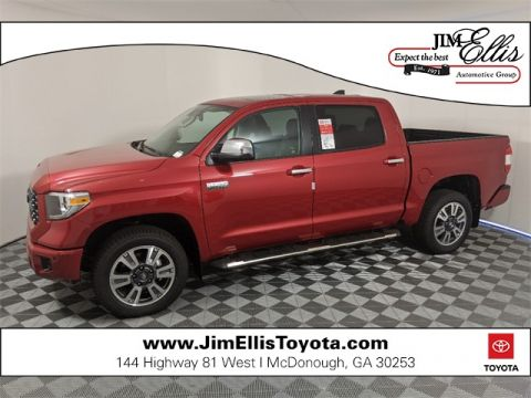 New 2020 Toyota Tundra Platinum 5.7L V8 4x4 w/Moonroof CrewMax
