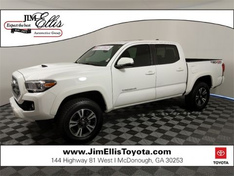 Certified Pre-Owned 2017 Toyota Tacoma TRD Sport V6 4x4 w/Premium & Technology Package