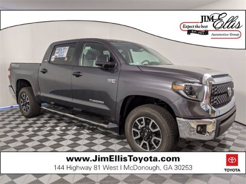 New 2020 Toyota Tundra SR5 5.7L V8 4x4 TRD Off-Road Plus w/Upgrade Pkg 4D CrewMax