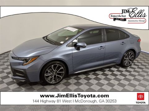Certified Pre-Owned 2020 Toyota Corolla SE 4D Sedan FWD