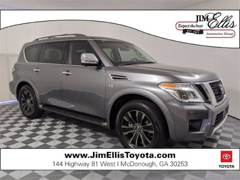 Pre-Owned 2017 Nissan Armada Platinum 4D Sport Utility RWD