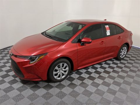 New 2020 Toyota Corolla LE 4D Sedan FWD