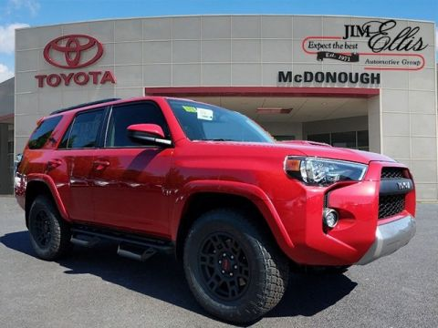 New 2019 Toyota 4Runner TRD Off-Road 4x4 XP Predator w/Navigation