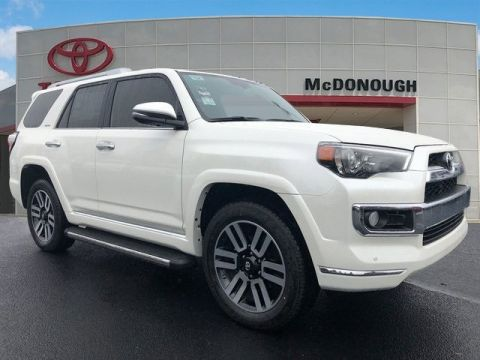 New 2018 Toyota 4Runner Limited With Navigation & 4WD