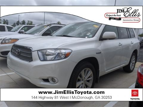 Pre-Owned 2010 Toyota Highlander Hybrid Limited 4D Sport Utility AWD
