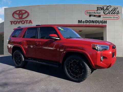 New 2019 Toyota 4Runner SR5 XP Gunner w/Navigation