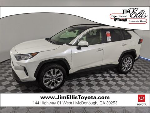 2020 Toyota RAV4 Limited AWD w/Adv Tech & Weather Pkg + Pano Roof