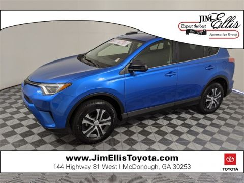 Certified Pre-Owned 2018 Toyota RAV4 LE 4D Sport Utility FWD